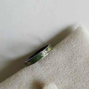 ENAMEL CLOISONNE ring size 7